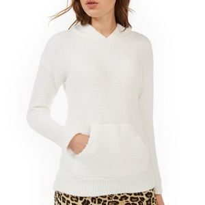 No Comment Hoodie / Teddy Bear Sweater Ivory XL